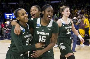 colley's late layup lifts spartans over chippewas, 88-87