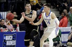 kentucky ends wofford's season with stifling defense