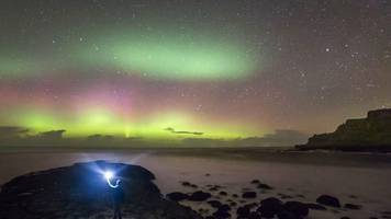 northern lights could be visible in ni