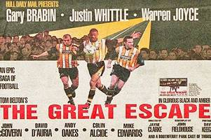 food fights, blood and guts and swimming in the sea: the inside story of hull city's great escape season