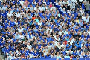 the surprising game that drew the biggest attendance to leicester city's stadium