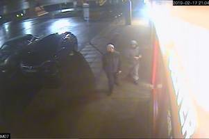 Police looking for two males in connection with Kimberley robbery