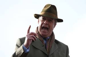 'we'll get cracking' - nigel farage talks brexit plan as he rejoins march to leave protest in nottinghamshire