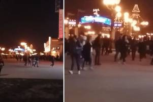 disneyland paris 'evacuated' and tourists 'told to stay indoors'