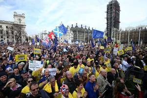 'more than one million' people in people's vote march, organisers claim