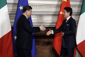 italy, china will sign up to $23 billion of deals, official says