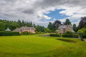 scots golfer paul lawrie's home has its own mini golf course - and he's just slashed his selling price