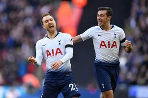 christian eriksen explains why spurs are in no danger of missing out on a top-four spot just yet