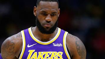 lebron james and the los angeles lakers out of play-off race - what has gone wrong?