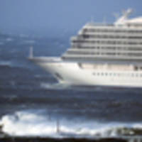 cruise ship in strife off norway, 1300 evacuations under way