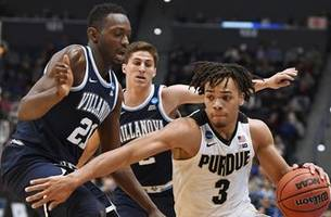 Purdue ends Villanova's bid for a repeat with 87-61 victory