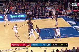 highlights: clippers take care of knicks at msg