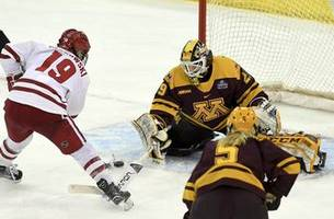 Gophers denied national title, lose 2-0 to rival Badgers