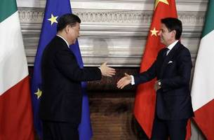 Italian soccer federation signs deal with Chinese government
