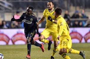 porter, crew suffer first loss to union in philadelphia, 3-0