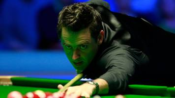 tour championship: ronnie o'sullivan beats neil robertson to become world number one