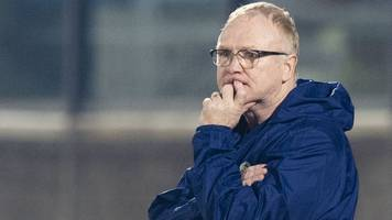 san marino 0-2 scotland: alex mcleish booed despite win