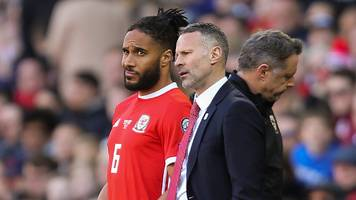 ashley williams: defender still wales captain despite being dropped - ryan giggs