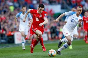harry wilson features in wales' euro 2020 qualifying win over slovakia