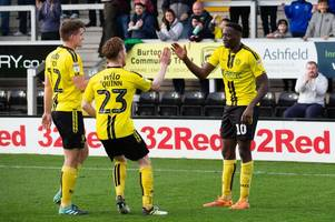 lucas akins on what breaking burton albion's efl goals record means to him