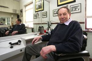 mansfield road barber set for retirement shares fond memories after five decades of business