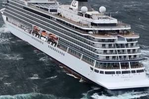 viking sky cruise ship passengers speak out after being airlifted to safety