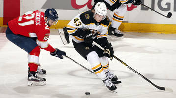 Boston Bruins Clinch Playoff Berth With 7-3 Win Over Florida Panthers