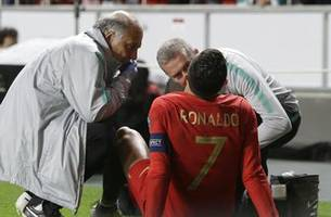 Ronaldo injured for Portugal; big wins for France, England