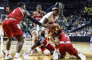 Ionescu has triple-double and Oregon downs Indiana 91-68