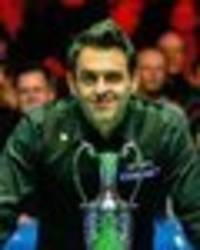 ronnie o'sullivan must be nominated for sports personality of the year after major feat