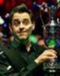 ronnie o'sullivan reveals the real reason behind sports personality of the year snub