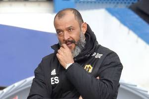 wolves 'reignite' interest in striker as nuno makes squad admission