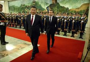 Chinese President in France to build on economic expansion