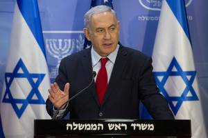 Netanyahu to cut U.S. visit short after 7 injured on rocket attack near Tel Aviv