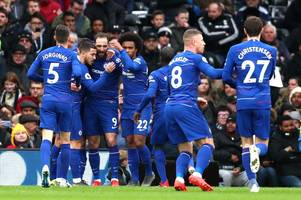 will sarri guide chelsea to a top-four finish? predict the race vs spurs, arsenal & man united