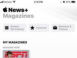 here's a look at apple news plus, the company's new subscription news service (appl)