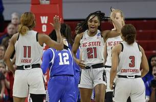 NC State beats Kentucky 72-57, returns to women's Sweet 16
