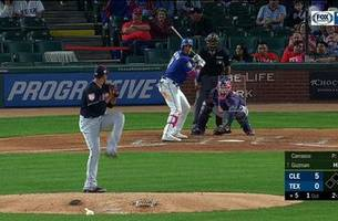 HIGHLIGHTS: Guzman Launched one to the Seats, Rangers are on the board