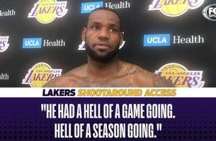 lebron james and luke walton comment on blazers player jusuf nurkic's horrifying injury