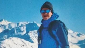 peterborough gp 'missing, feared dead' in french alps