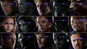 marvel 'avengers: endgame' posters reveal surviving and fallen superheroes