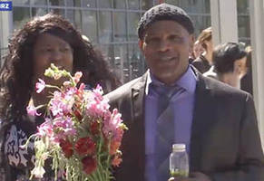 man wrongly accused of rape free after 35 years in prison