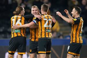 hull city owe it to themselves to ensure the final eight games are not a damp squib