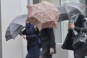 new month to herald showers and strong winds for the uk
