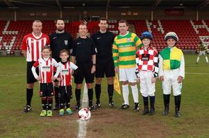 Former Chelsea captain Dennis Wise and Manchester United player Dion Dublin sign up for Cheltenham Town FC charity match