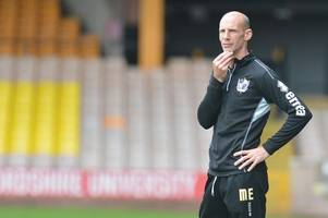 mansfield 4, port vale 1 reserves - coach slams 'embarrassing' second half