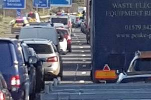 m5 crash: fire service reveals details of operation to rescue man from wreckage