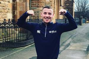 motherwell boxer seals second pro win and weds partner in one weekend