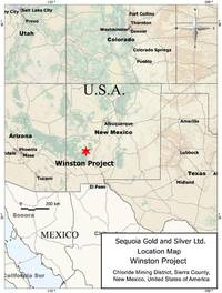 far resources provides corporate update for the spin-out of its high-grade winston gold-silver project, new mexico