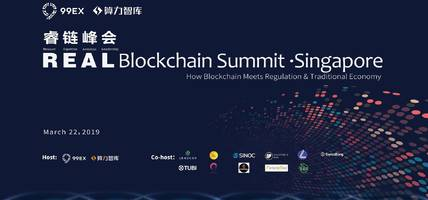 real blockchain summit held in singapore to boost the new development of blockchain industry from a global perspective